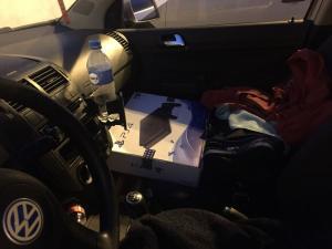 Posto Policial Rodoviário de Iporã apreende veículo com 70 aparelhos de vídeo game PS4