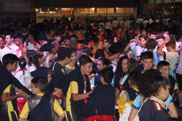 Guaíra foi palco da cerimônia de abertura da fase regional do 66º Jogos Escolares do Paraná (JEPS)