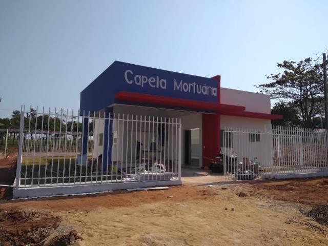 Capelas mortuárias dos distritos de Serra dos Dourados e de Lovat chegam à fase de acabamento