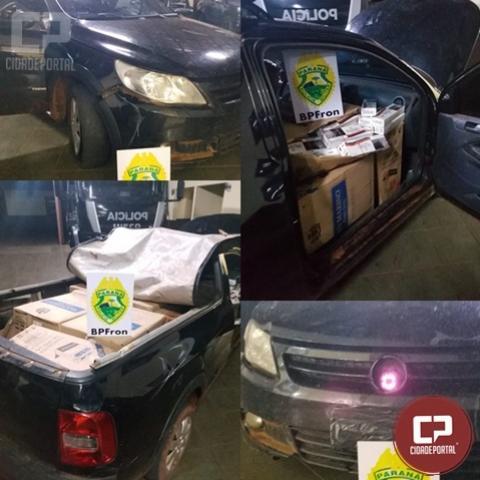 BPFron apreende em Guaíra veículo de contrabandista equipado com sistema de visão noturna