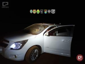 Veículos e cigarros contrabandeados foram apreendidos em Guaíra durante Operação Hórus