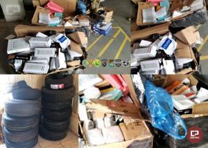 Homem foi preso, pneus e aparelhos eletrônicos foram apreendidos em Guaíra durante Operação Hórus