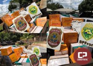 Operação Hórus realiza apreensão de veículo com grande quantidade de agrotóxicos em Guaíra