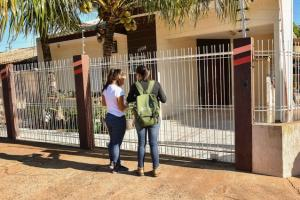 Bloqueio larvário reforça combate à dengue em vários bairros da cidade