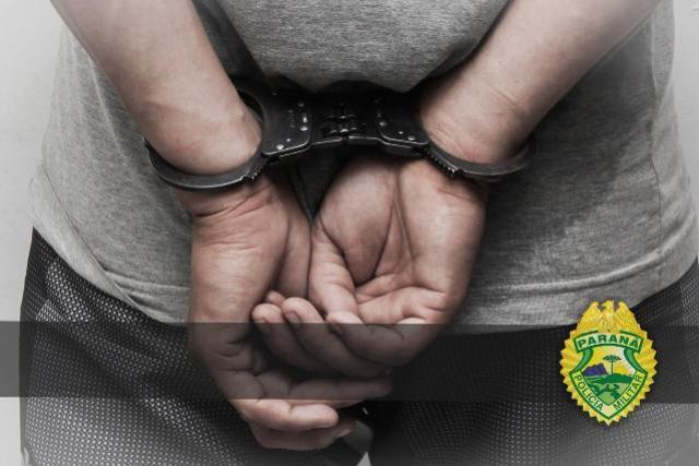 BPFRON apreende indivíduo com mandado de prisão em Xambrê