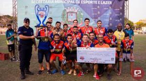 Aceru é a grande campeã da 1ª Copa Amizade de Futebol em Umuarama