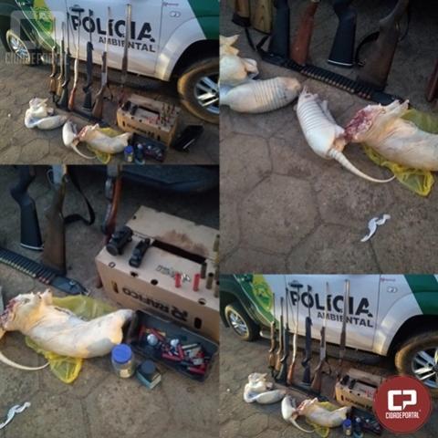 Polícia Ambiental prende duas pessoas com carne de caça e posse de armas em Loanda