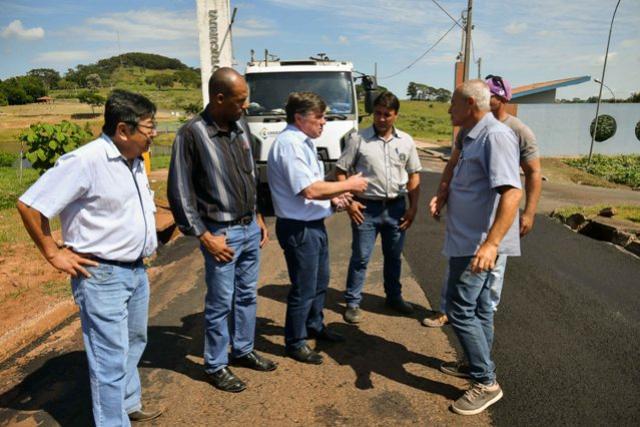 Prefeitura inicia mais uma etapa do programa de micropavimentação em Umuarama