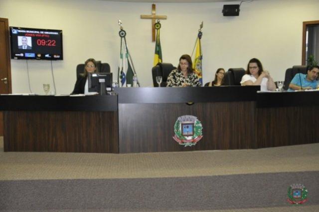 Vereadores apreciam um projeto em sessão extraordinária e mais oito em ordinária em Umuarama