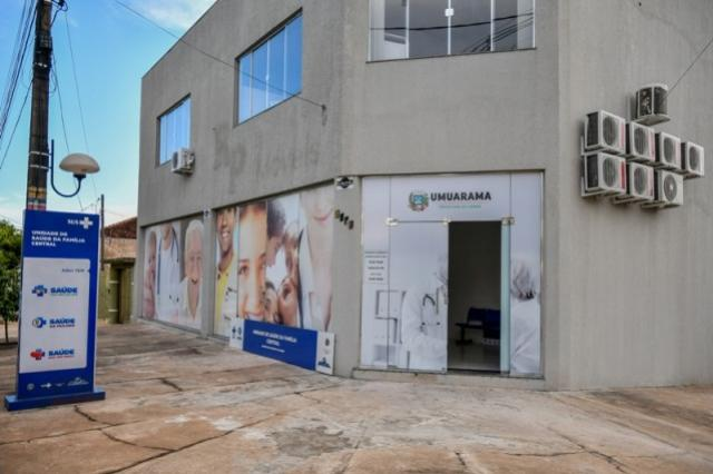 Posto de Saúde Central de Umuarama já atende em novo endereço
