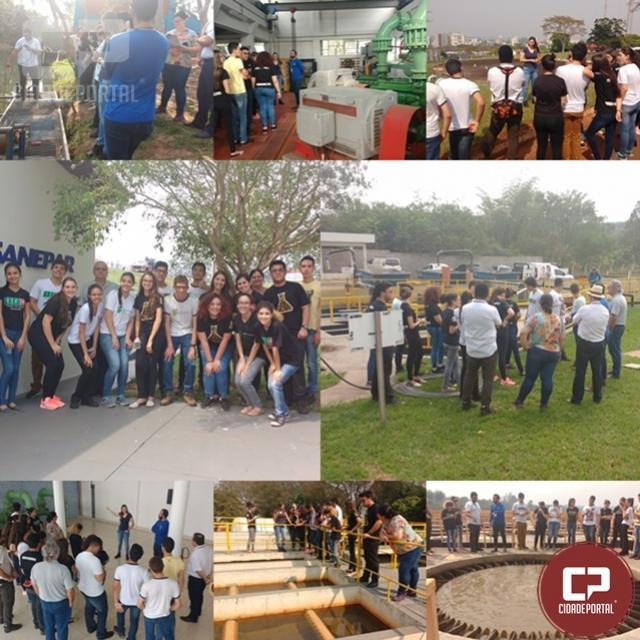 Estudantes de curso técnico do IFPR de Umuarama participam de atividade Do Rio ao Rio