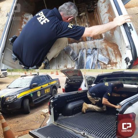 PRF prende dupla com 141 quilos de maconha em Alto Paraíso