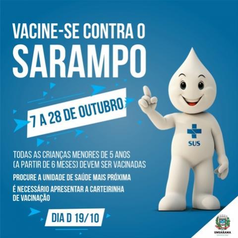 Saúde de Umuarama chama atenção dos pais para campanha de vacinação