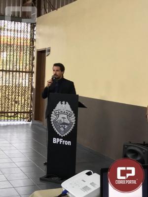 Café com a Comunidade é realizado na sede da 2ª Companhia do Batalhão de Fronteira em Guaíra