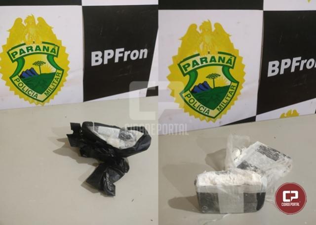 BPFron apreende cocaína em Guaíra durante Operação Hórus
