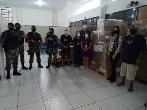 Regional de Umuarama recebe insumos para vacinação contra Covid-19