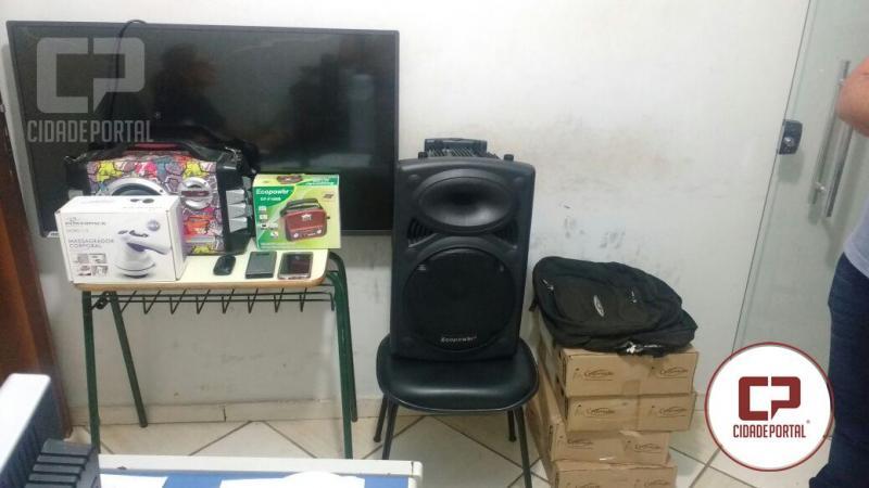 Polícia Militar de Umuarama recupera partes de objetos roubados após denúncia de populares