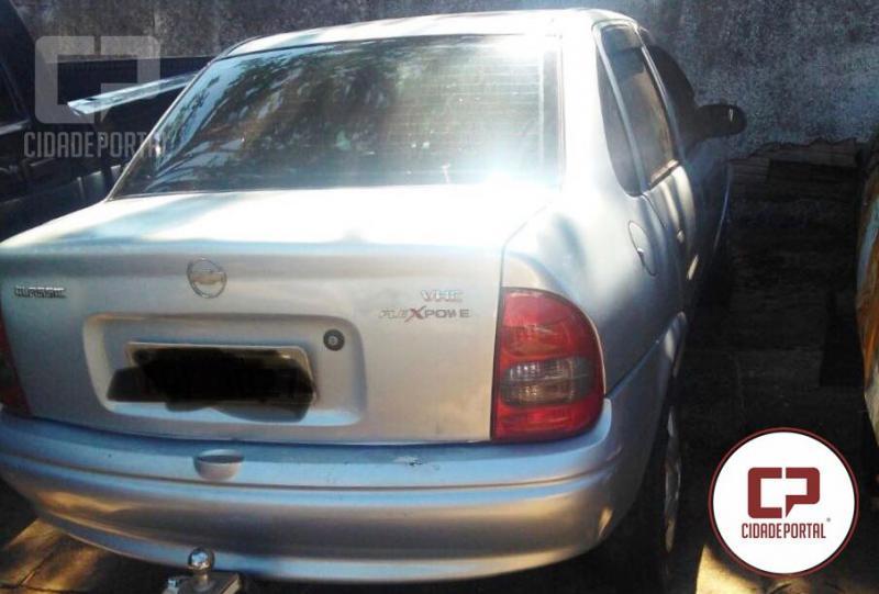 Polícia Militar de Umuarama recupera veículo roubado nesta terça-feira, 17