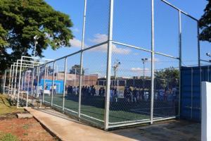 Douglas Fabrício e Fernando Scanavaca inauguram  Arena Multiuso Esportiva em Umuarama