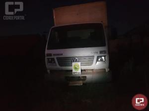 BPFRON apreende caminhão com cigarro em Altônia-PR