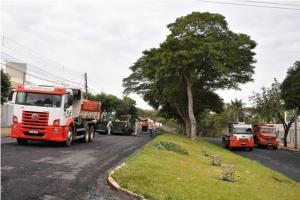 Recapeamento da Avenida Apucarana em Umuarama será finalizado dentro do prazo