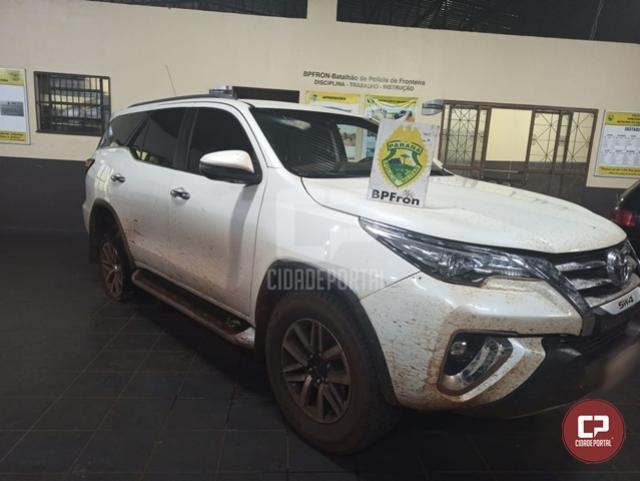 BPFron recupera veículo roubado durante Operação Hórus em Guaíra