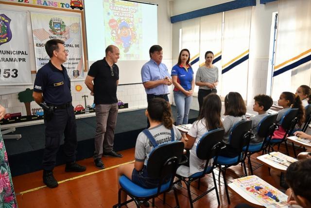 Escola de Trânsito inicia novo ciclo com alunos do 4º ano em Umuarama
