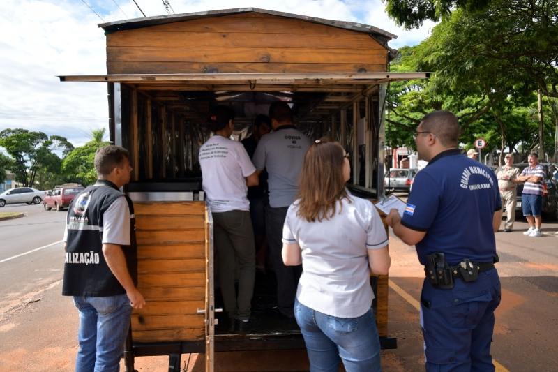 Município vistoria carrinhos de lanche para liberação de alvará em Umuarama