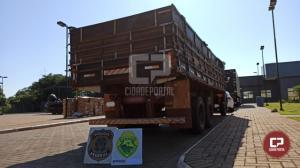 Polícia Federal e BPFron apreendem veículos e cigarros contrabandeados em Guaíra