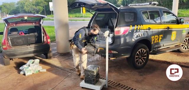 PRF prende dois homens transportando haxixe, skunk e maconha em Alto Paraíso