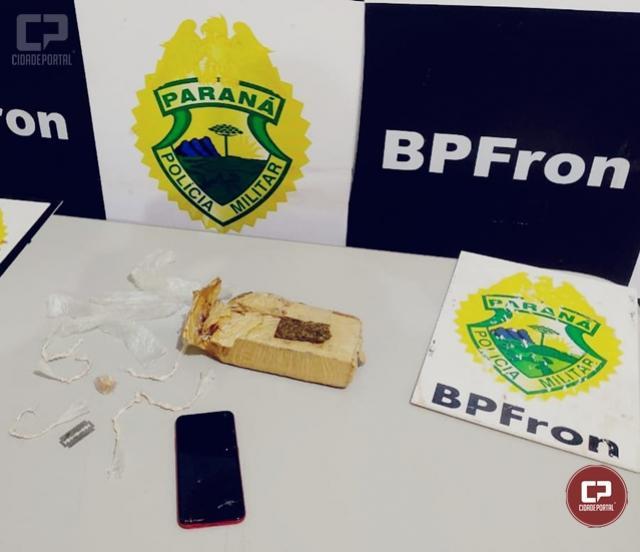 BPFron prende uma pessoa e apreende drogas em Guaíra durante Operação Hórus