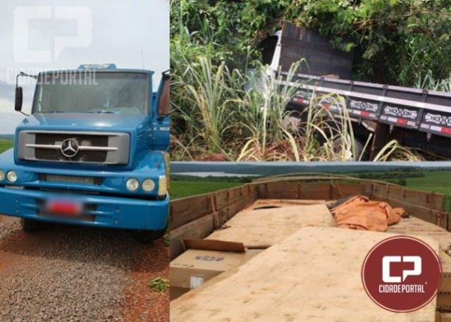 Operação Hórus apreende 2 caminhões com cigarros e prende um contrabandista em Guaíra