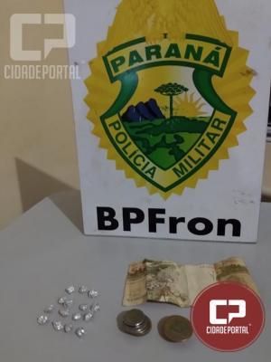 BPFRON apreende maconha na cidade de Guaíra