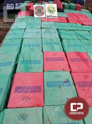 Operação Hórus apreende embarcação com 30 mil pacotes de cigarros contrabandeados