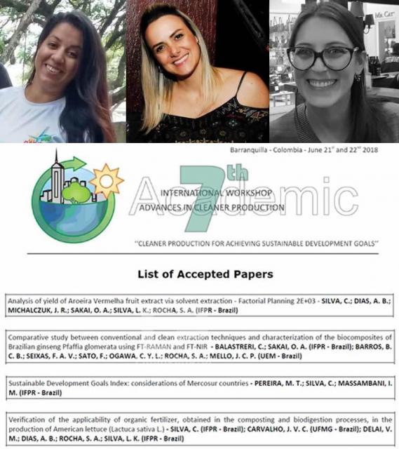 Pesquisas de estudantes do IFPR são selecionadas para apresentação na Colômbia