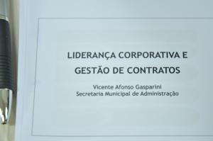 Curso capacita servidores para  gerir e fiscalizar contratos públicos