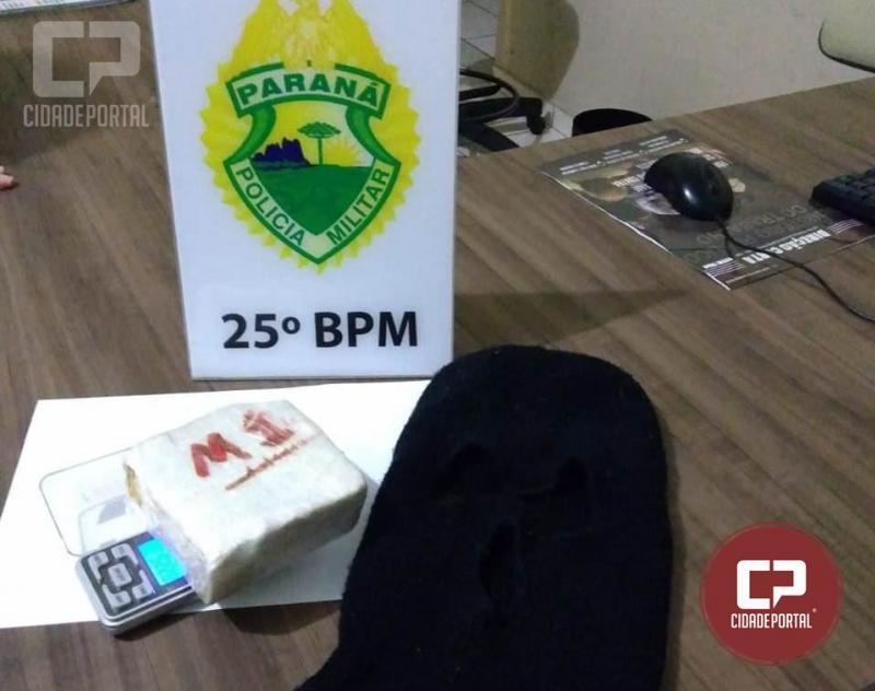 Operação denominada Esforço Integrado apreende 522 gramas de crack em Maria Helena