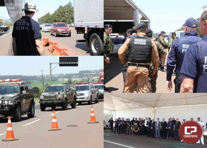 Operação Muralha/Hórus começou nesta terça-feira, 19, na região oeste