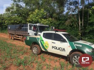 Polícia Ambiental apreende 500 caixas de cigarro contrabandeado em Perobal
