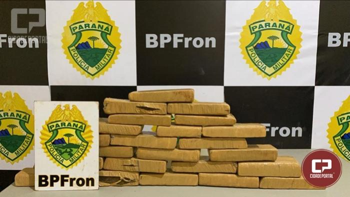 Indivíduo é preso por tráfico de drogas durante Operação Hórus em Guaíra