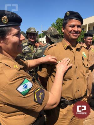 25° BPM realizou a Solenidade de Entrega de Divisas aos Militares Estaduais Promovidos
