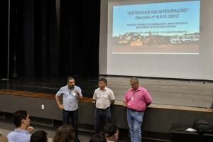 Audiência orienta proprietários rurais de Umuarama sobre cascalhamento de estradas