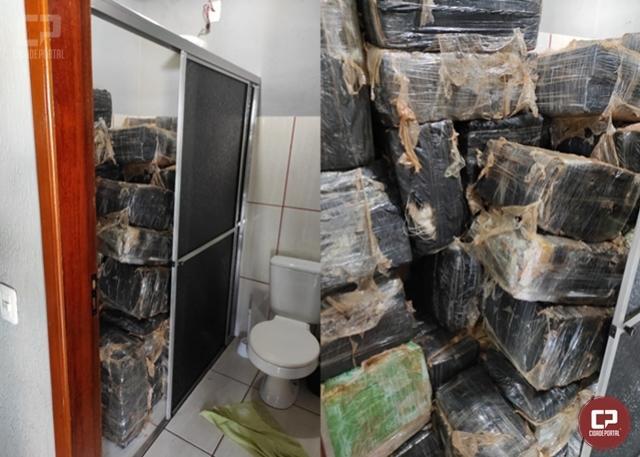 Polícia Civil de Umuarama prende traficantes a apreende quase uma tonelada de maconha