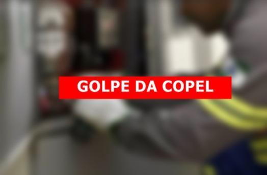 Copel alerta contra tentativa de golpe em Umuarama