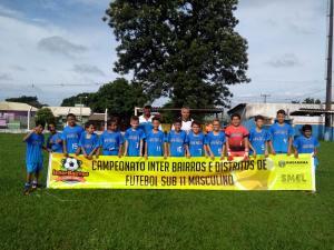 Interbairros de Futebol Sub-11 em Umuarama define os finalistas no domingo