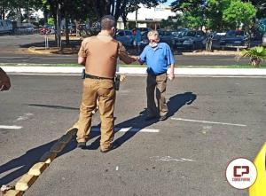25° Batalhão da Polícia Militar de Umuarama e Seju realizam prevenção contra o CORONAVÍRUS