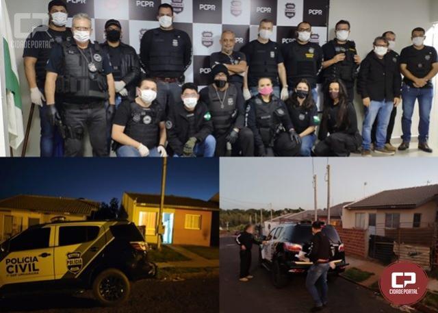 Polícia Civil de Umuarama deflagra Operação Vidar para apurar crime de homicídio no Bairro Sonho Meu