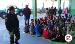 Biodiversidade é comemorada com aula inaugural em novas instalações no Pelotão da Polícia Ambiental de Umuarama