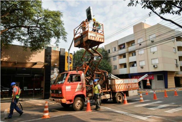 Umutrans inicia a instalação dos anjinhos para alertar motoristas