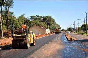 Além de duplicação de trecho, Avenida Castelo Branco também ganha recape em Umuarama